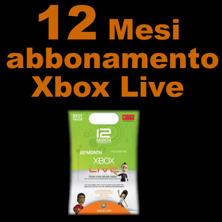 xbox live card. Vinci Xbox Live Gold Card 12