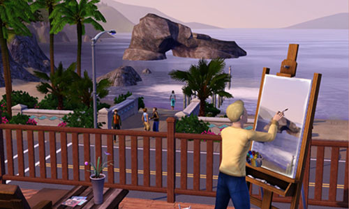 The sims 3 anteprima the sims 3 gamesource for Case the sims 3 arredate