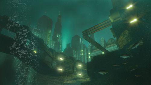 La subacque, inquietante, Rapture