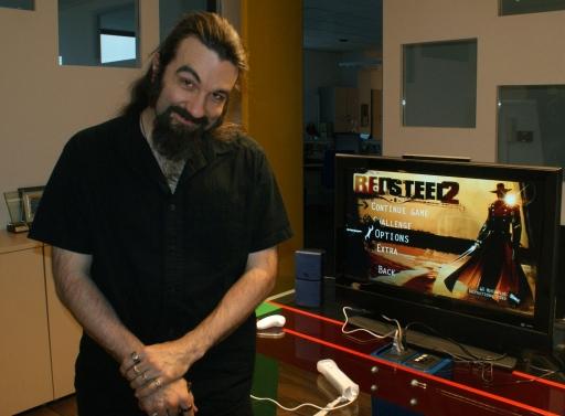 Jason Vanderberghe, il direttore creativo di Red Steel 2